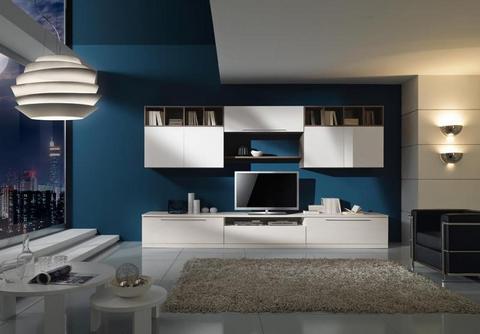 Soggiorno Bianco E Giallo ~ Idee per il design della casa
