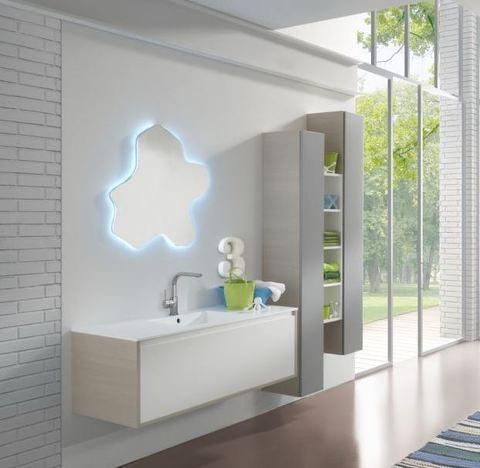Mobile bagno laccato bianco roma grandi sconti arredamenti a roma qualit e convenienza - Mobile bagno usato roma ...
