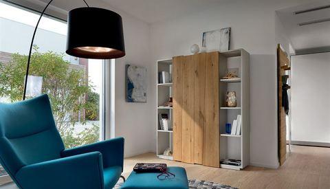 Libreria a parete o divisorio lazio