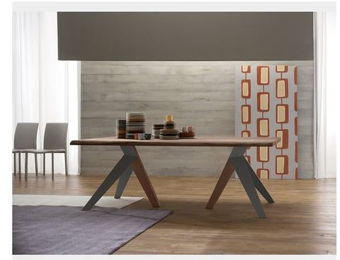 Tavolo moderno in legno di rovere lazio grandi sconti for Ingrosso arredamenti roma