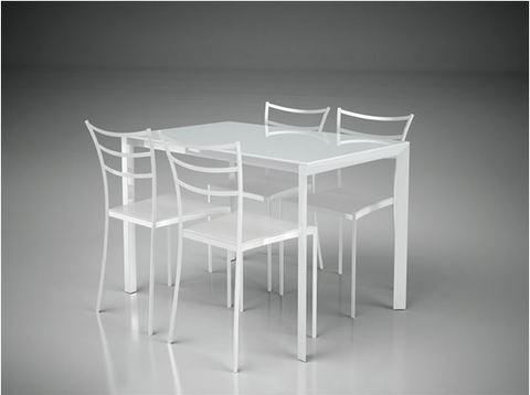 Tavolo e 4 sedie roma grandi sconti ingrosso for Sconti sedie