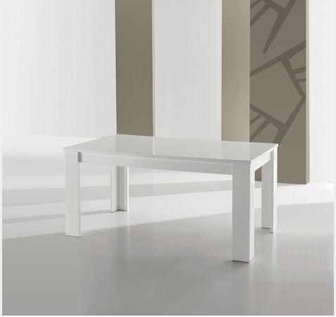 Tavolo rettangolare laccato lucido roma