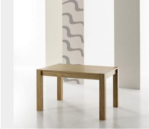 Tavolo allungabile in legno di rovere zamagna lazio