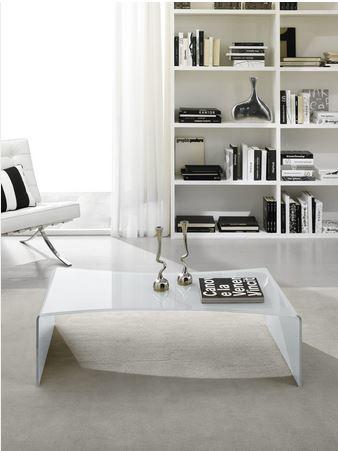 Tavolino curvato in vetro temperato lazio grandi sconti for Ingrosso arredamenti roma