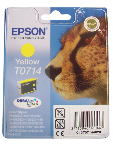 Cartuccia gialla epson t0714