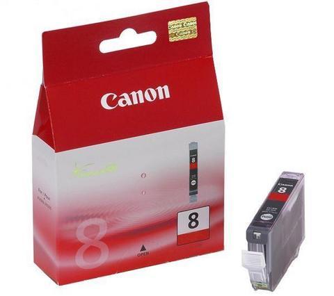Canon cli-8r cartuccia serie 8 -  red+green