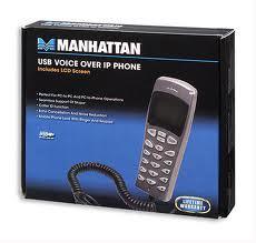 Manhattan usb voice over ip phone