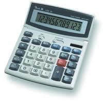 Calcolatrice peach solar 1206se