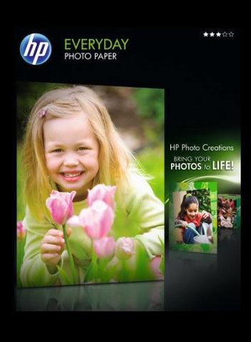 Carta fotografica hp a4 21 x 29, 7 cm