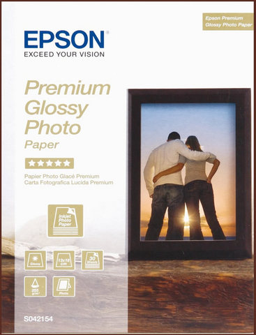 Carta Fotografica Epson Premium 30 Fogli