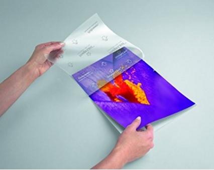 Fogli per plastificazione protezione foglio a4