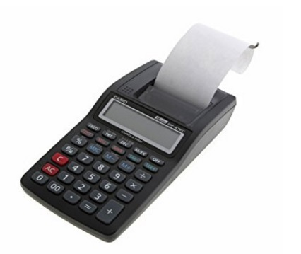 Calcolatrice con stampante casio