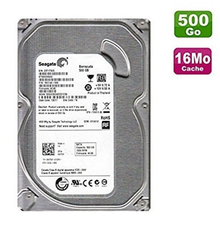 Hard disk seagate barracuda sata iii 500 gb