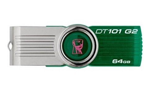 Chiavetta Usb Pendrive Kingston Verde 64gb