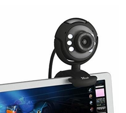 Webcam Pro Per Ufficio O Casa Trust Spotlight