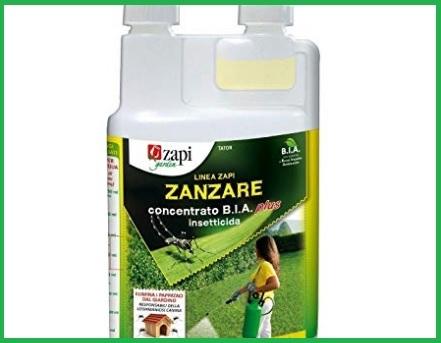 Insetticidi per zanzare impatto ambientale