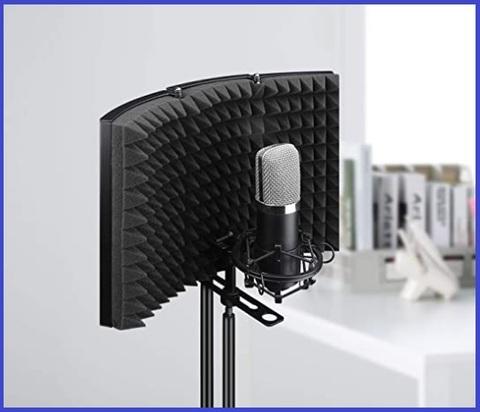 Insonorizzazione microfono registrazione