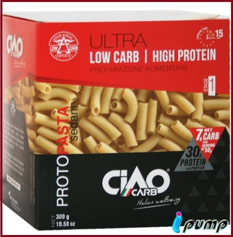 Pasta proteica carboidrati sedani rigati