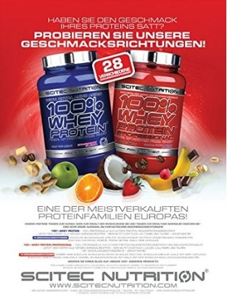 Integratore scitec nutrition protein whey cioccolato
