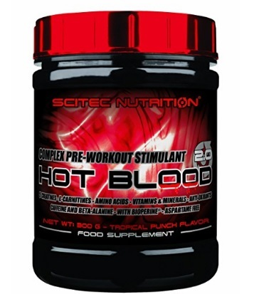 Pre Workout Scitec Nutrition Hot Blood