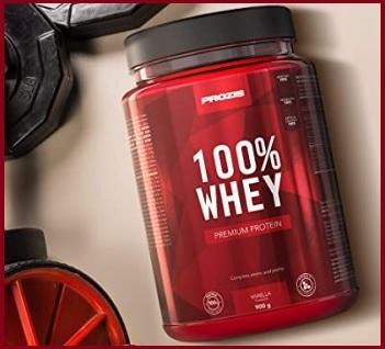Whey prozis per aumentare la massa muscolare