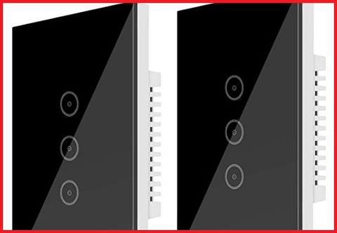 Interruttore wifi nero