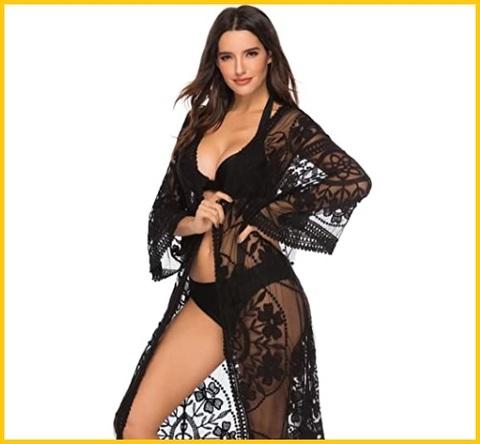 Vestito da spiaggia copricostume uncinetto