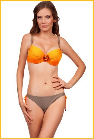Bikini Per Grandi Taglie Arancione