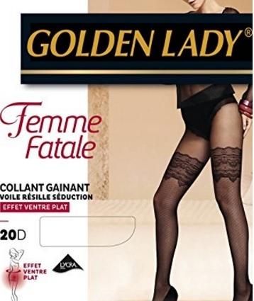 Calze collant ricamate seduction donna