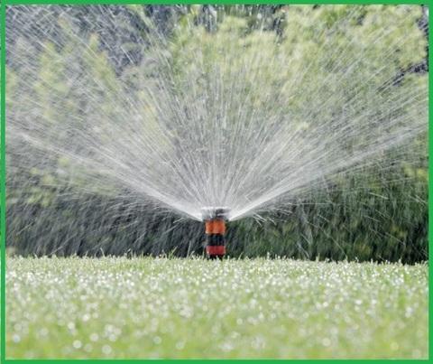 Irrigazione prato a scomparsa
