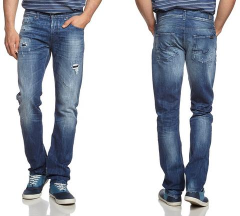 Jeans strappati uomo levis