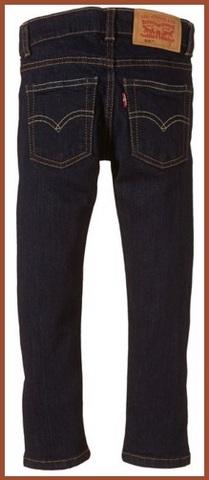 Jeans per bambini della levi's