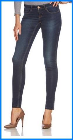 Jeans blu scuro femminili