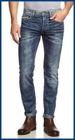 Jeans da uomo alla moda
