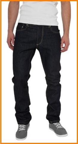 Jeans straight regular uomo