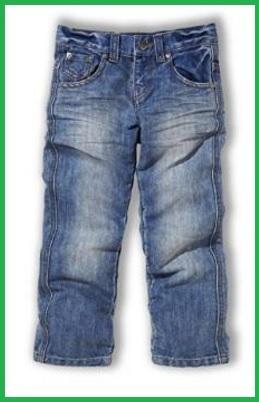 Jeans per bambini con elastico