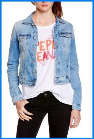 Giacca Classica Da Donna In Jeans
