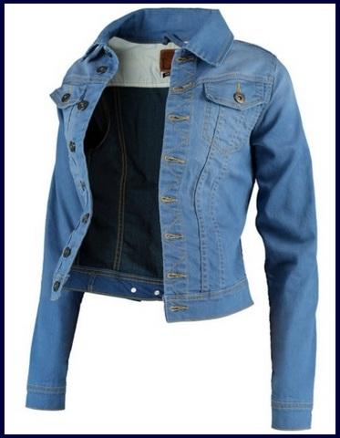 Giacca in jeans classica per donna