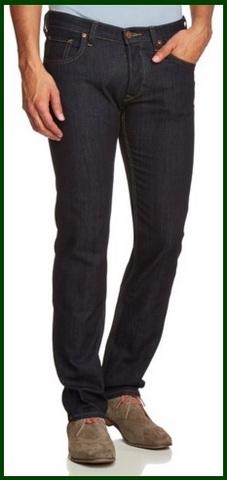 Jeans classici scuri da uomo