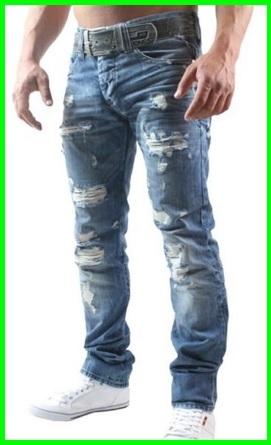 Jeans straight da uomo alla moda