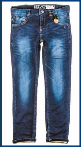 Jeans classici per bambini e ragazzi regular style