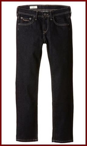 Jeans scuri per bambini e ragazzi pepe jeans