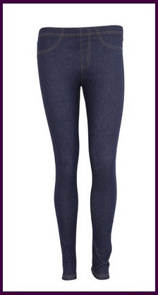 Leggings comodi e aderenti stile jeans