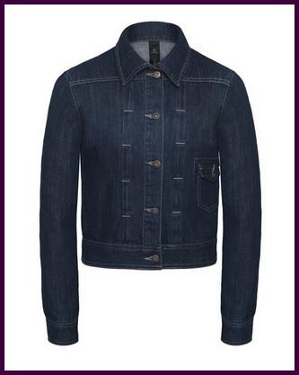 Giubbotto in jeans per donna con tasca laterale