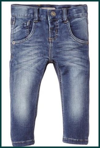 Jeans classici per bambini slim