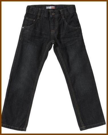 Jeans blu scuri per bambini e ragazzi