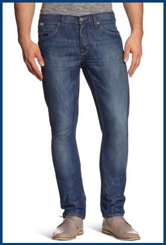 Jeans da uomo straight alla moda