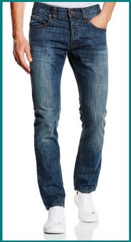 Jeans normali blu da uomo