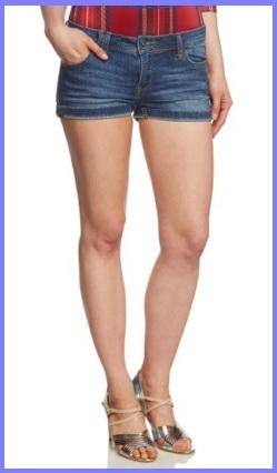 Jeans corti scuri per ragazza