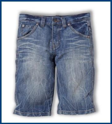 Jeans per bambini corti pantaloncini